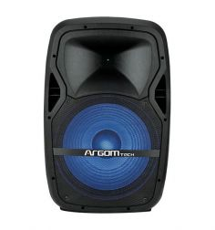 "Parlante Argom 3500W 15"" SOUNDBASH 99. Luces LED - Bluetooth C/control + microfono"