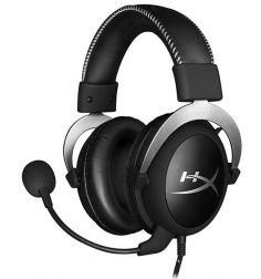 Auriculares Gamer HyperX Cloud Prata  HX-HSCL-SR
