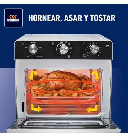 Horno con freidora de aire Oster®. Al mejor precio en Paraguay.