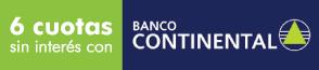 Pagá en 6 cuotas sin interés con Tarjetas del Banco Continental
