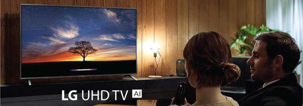 """Smart TV LG 43"""" UHD 4K AI Quad Core al mejor precio en Paraguay"""