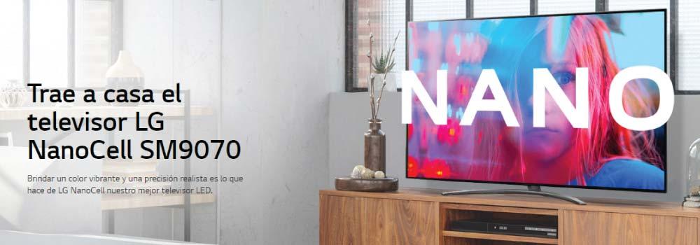 Trae a casa el televisor LG NanoCell SM9070 Brindar un color vibrante y una precisión realista es lo que hace de LG NanoCell nuestro mejor televisor LED.