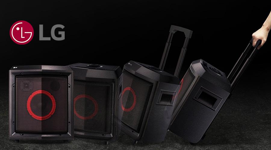 LG FH2, un altavoz portátil  para ambientar tus fiestas