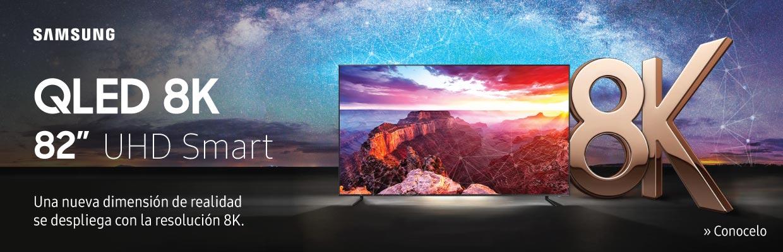 Nuevo Televisor Samsung QLED 8K de 82 pulgadas UHD Smart TV