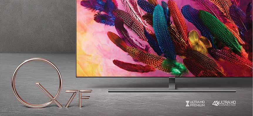 "Televisor Samsung 75"" 4K QLED Smart TV Q7FN"