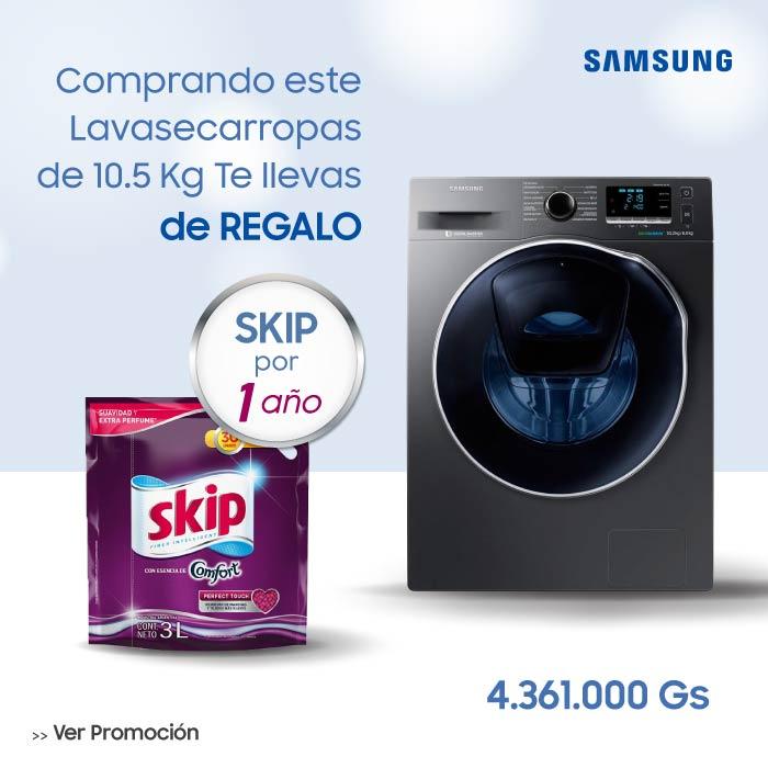 Lavasecarropas Samsung