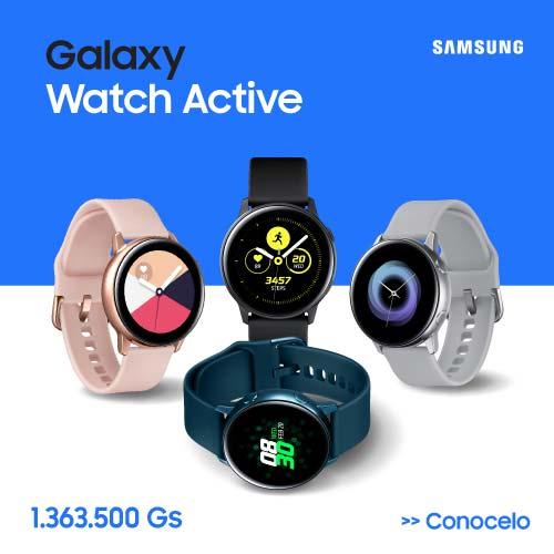 Reloj Inteligente - Banda Inteligente - Smartwatch Samsung Galaxy Watch Active. Al mejor precio en Paraguay y más Barato