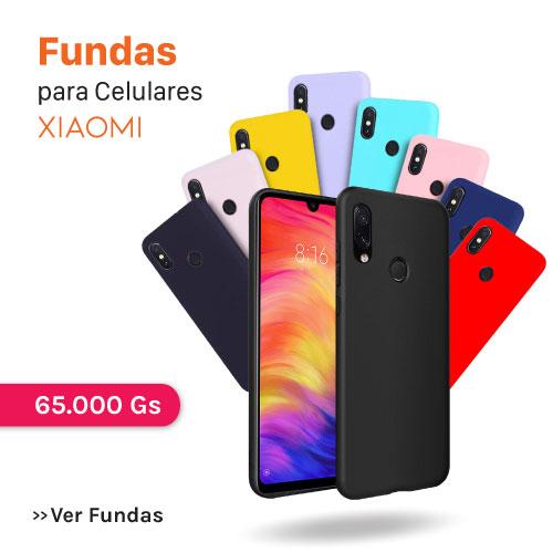 Fundas - protectores - case - cover para Celulares Smartphone Xiaomi al mejor precio en Paraguay y más barato. Somos tienda oficial Xiaomi