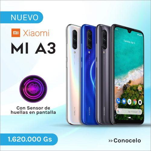 Celular Xiaomi MI A3 al mejor precio en Paraguay. Visuar - Tienda oficial de Smartphone Xiaomi