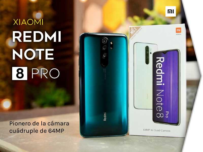 Nuevo Celular Xiaomir Redmi Note 8 Pro al mejor precio y más barato en Paraguay. Contamos con crédito personal, envíos a todo el País y garantía oficial por 1 año.