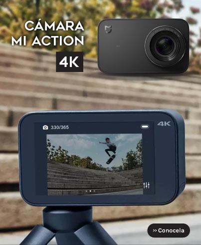 Nueva Cámara Mi Action 4k Xiaomi Paraguay