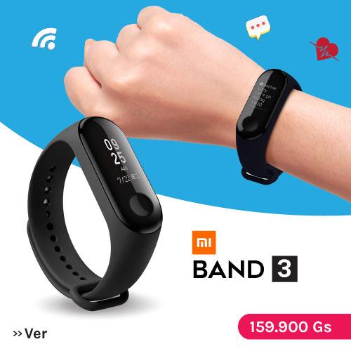 Smartwatch mi band 3 al mejor precio en Paraguay Tienda Oficial Xiaomi