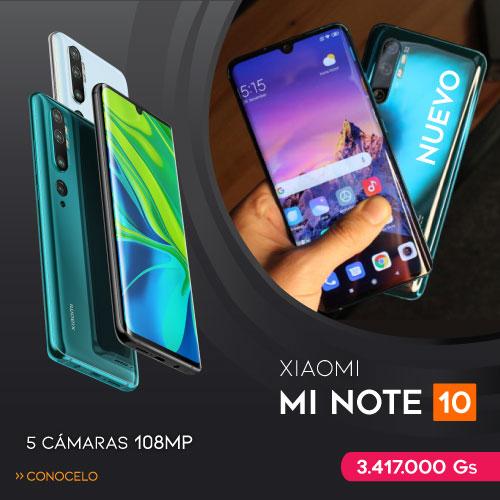 Celular Xiaomi Mi Note 10 128 GB