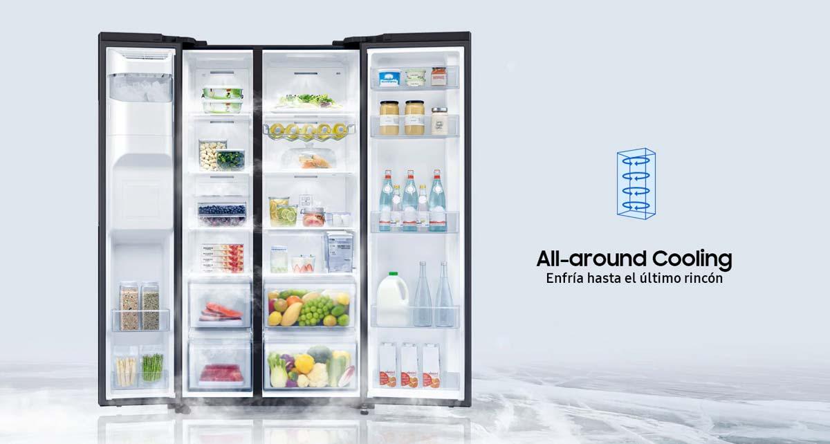 Refrigerador Side by Side con Tecnologia Space Max