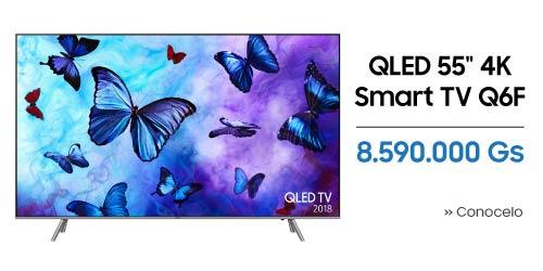 TV Samsung QLED 55 pulgadas 4K UHD Smart Q6F