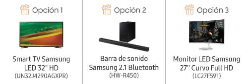 Promo Big Size Samsung - Regalos QN75Q70RAGXPR